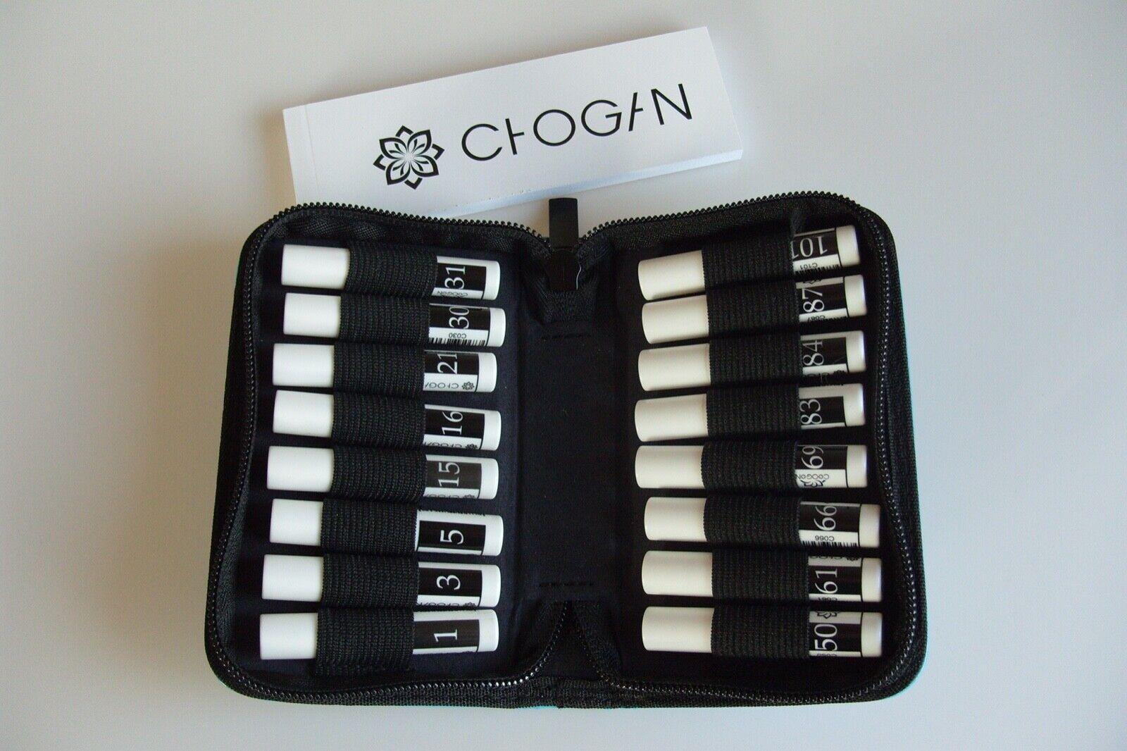 16x 3ml MEN 's  Duftproben SET Chogan Düfte für Herren Eau de Parfum Tester Etui