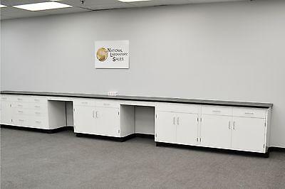 24 Fisher American Laboratory Furniture Cabinets Case Work Benches -e1-094