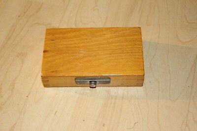 Zubehör für CARL ZEISS Jena Hand Spectroscope Spectrometer  ,Original Wooden Box