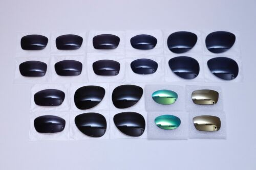NEW OAKLEY LENSES LOT 11 PAIRS FIVES SQUARED 2.0 BLENDER CAVEAT DAISY CHAIN MORE