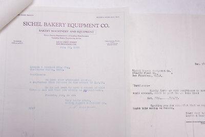 1932 Lamson Goodnow Sichel Bakery Equipment San Francisco CA Ephemera P106F for sale  Shipping to Nigeria
