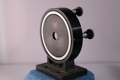 Tropel Mirror Mount Model 7600 With Starett Micrometer Adjustment