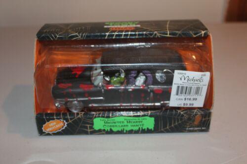 Lemax Spooky Town Haunted hearse Halloween Decor