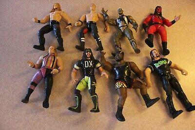 Lot of 8 Vintage Wrestling Action Figures! Good condition! Jacks LJN-Nice !!