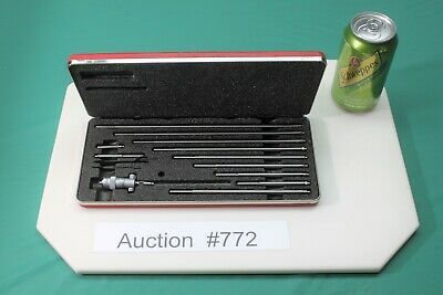 New Starrett Id Inside Micrometer No 124b W Case Nos New Old Stock 772