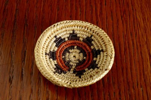 Vintage Navajo Wedding Basket Miniature Indian Native American