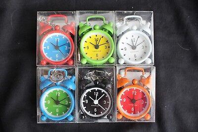 KIKKERLAND Mini Wecker Bell Alarm Clock 6 Stück -