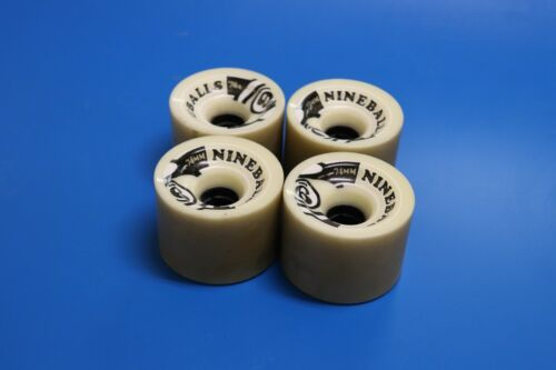 4 each full set of Nine ball white 74mm Durameter 78a