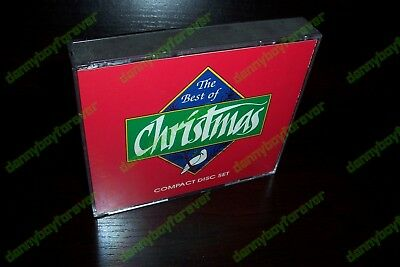 The Best of Christmas 3 CD Set Holiday Music Bing Crosby Lou Rawls Beach