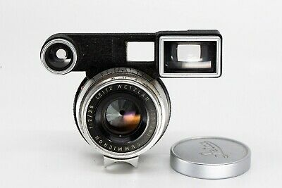 Leica Summicron 35mm f2.0 8 elements v1 M with goggles