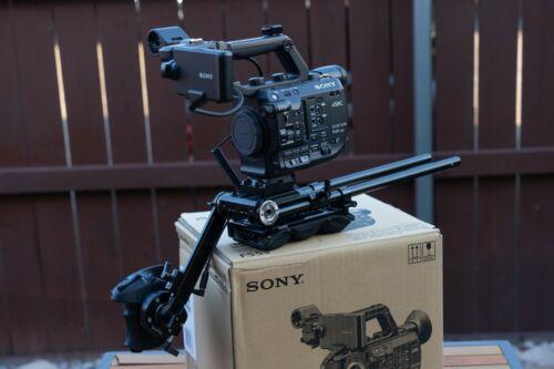 Sony PXW-FS5M2 4K XDCAM with Smallrig shoulder mount. Raw ready!