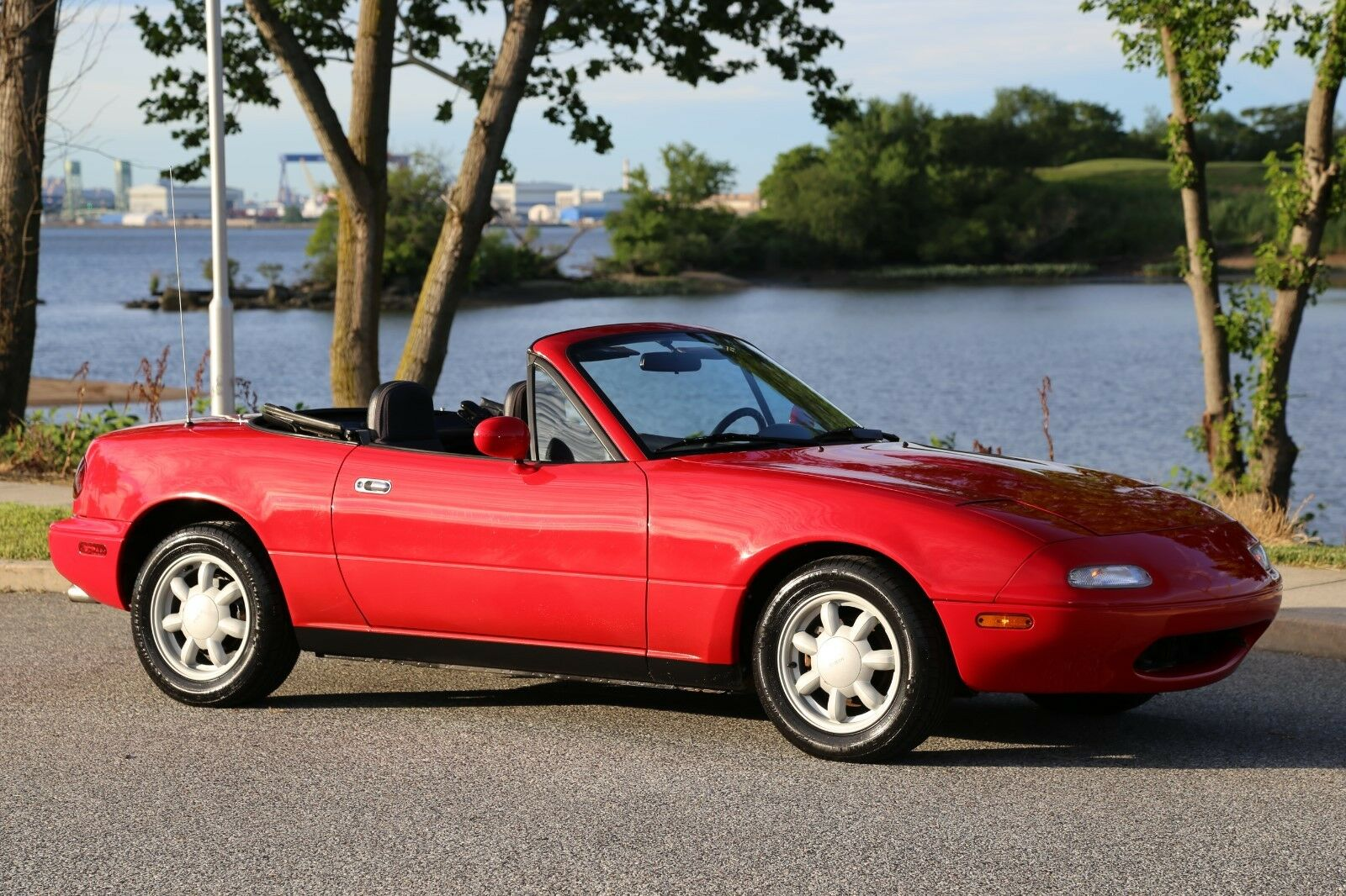 1990 mazda mx 5 miata convertible 65k original miles 1 owner garaged no reserve used mazda mx. Black Bedroom Furniture Sets. Home Design Ideas