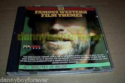 22 Famous Western Film Themes CD Soundtrack Score Related CD Plant Sweden 1986](Western Theme Music)