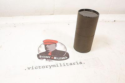 WWII US GI Grenade Canister, CARDBOARD ONLY, NO GRENADE