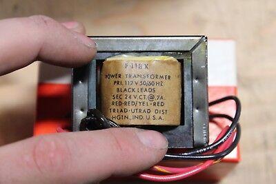New Lot Of 10 Triad-ultrad F-118x Mini Power Transformer
