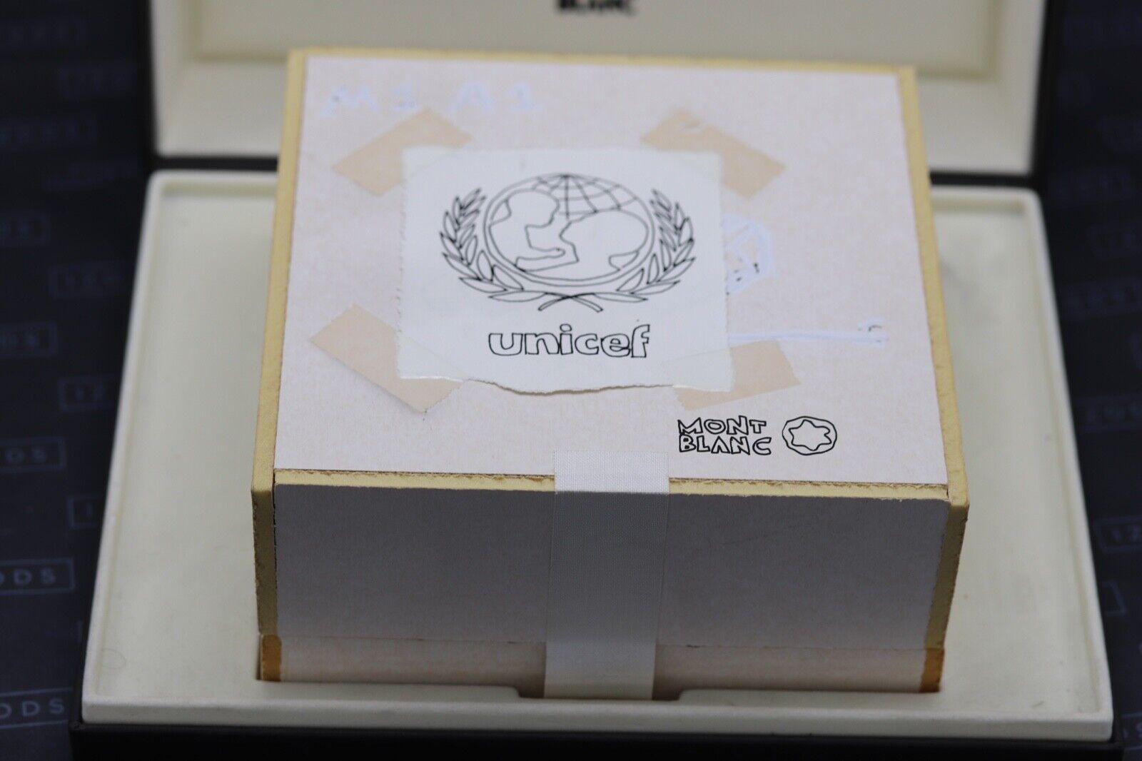 Montblanc Meisterstuck 149 Tom Sachs UNICEF Fountain Pen Set - UNUSED 9