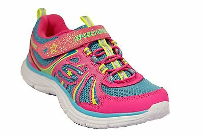 Skechers Sports Girls Ecstatix WunderSpark Athletic Pink Shoes NEW IN BOX](Pink Girls Shoes)