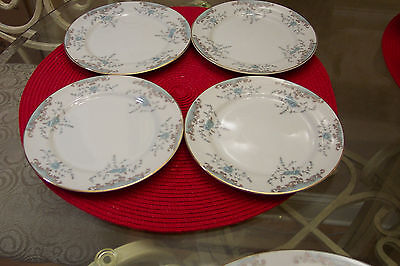 IMPERIAL CHINA W DALTON SEVILLE 5303 SET OF 4  BREAD & BUTTER PLATES EXECELLENT