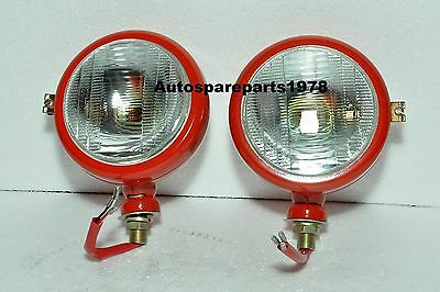 Massey Ferguson Head Light Lamp 1035 35 Set Rh Lh