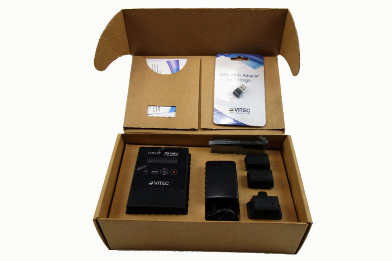 VITEC Video Innovations Focus FS-H60 Portable Proxy Recorder with Wi-Fi Adapter
