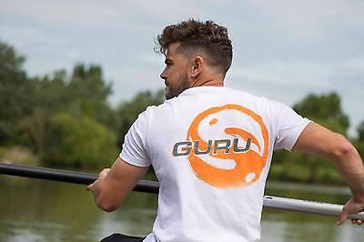 Guru Match & Coarse Fishing Clothing Range -  Offset Logo T-Shirt - All Sizes