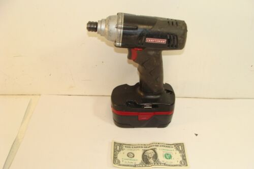 """Craftsman 19.2v Cordless C3 1/4"""" HEX IMPACT DRIVER 315.114831 -With Good Battery"""