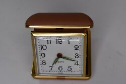 Equity Wind Up Folding Compact Travel Alarm Clock Tested and Works