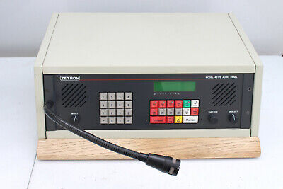 Zetron Model 4217b Audio Panel 911 Dispatch Console Mic Power Supply