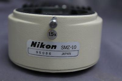 Nikon Smz 10 Stereo Microscope 1.5x Coaxial Illuminator