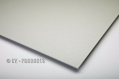Abs Plastic Sheet Light Gray Vacuum Forming 18 Thick 6 X 12 - 252a
