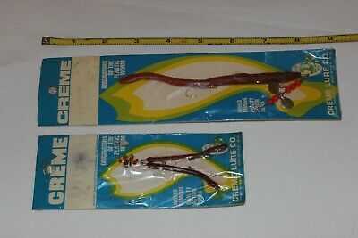 BUTCH HARRIS Vintage Fishing Lure in Sealed Package Green 8-1//2 inch Bass Worms