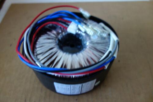 Dual Input 120V /240V- 2 X 20V- 2X 50V 600VA Audio Amplifier Toroid Transformer