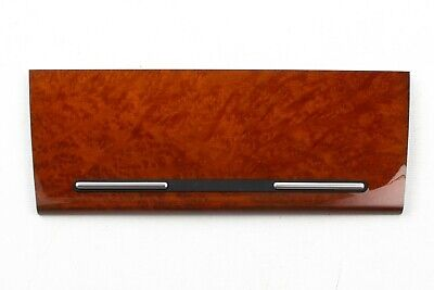 New Audi A4   S4 Front Center Wood Ash Tray Cover Vavona Amber *8E0857967H 5TQ