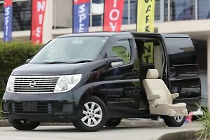 2006 NISSAN Elgrand Only 42Km Mobility vehicle Disability Side Lift Up Chair  English Unit           Wetherill Park Fairfield Area Preview