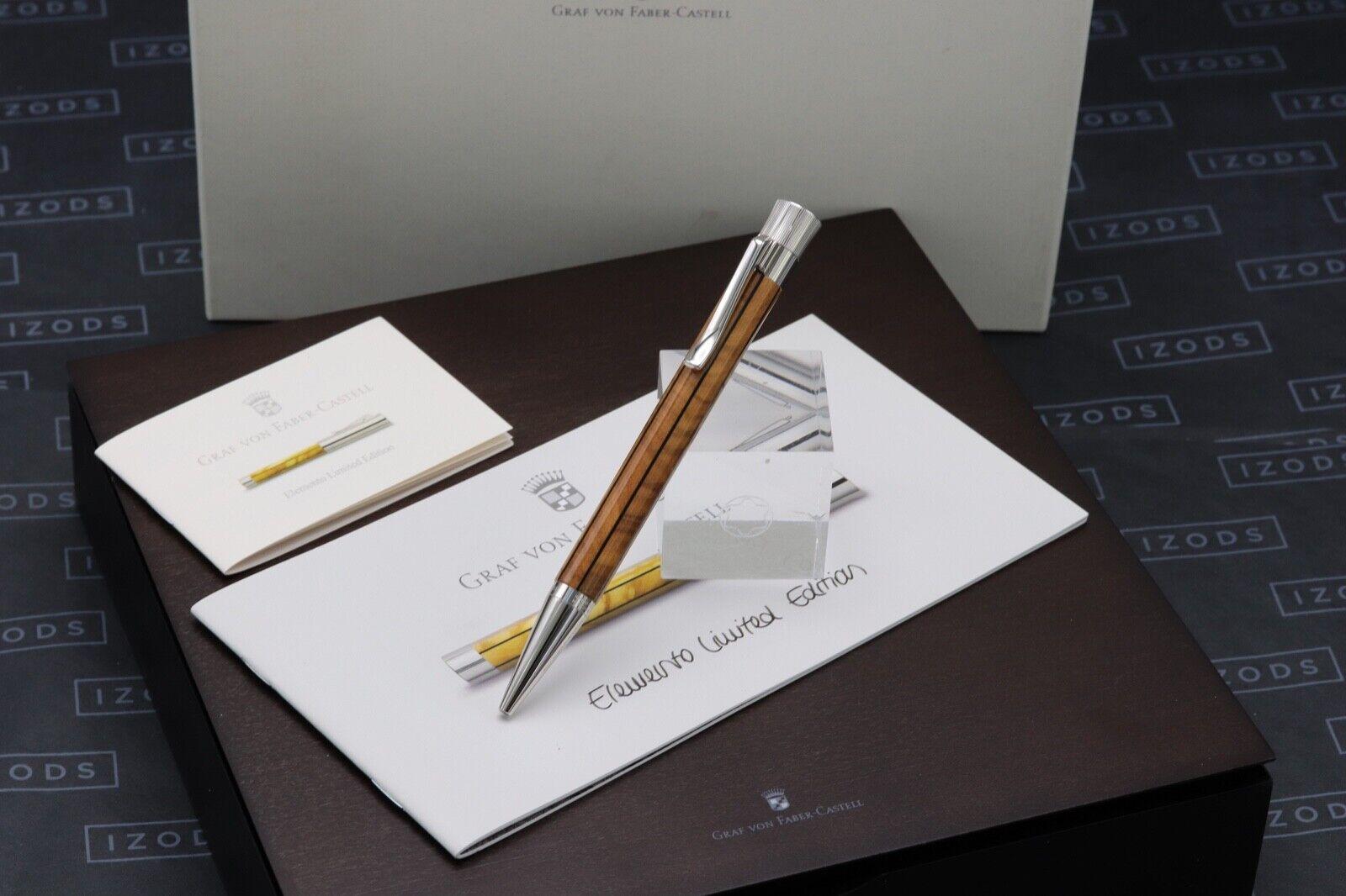 Graf von Faber Castell Elemento Limited Edition Ballpoint Pen - UNUSED