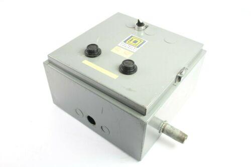 Square D 8810 SBG 3 2-Speed AC Magnet Starter