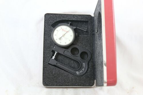 """STARRETT 1015A-431 DIAL INDICATOR THICKNESS GAUGE  GAGE .0005"""""""