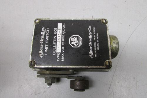 Allen Bradley 801-ASA1-2 Limit Switch