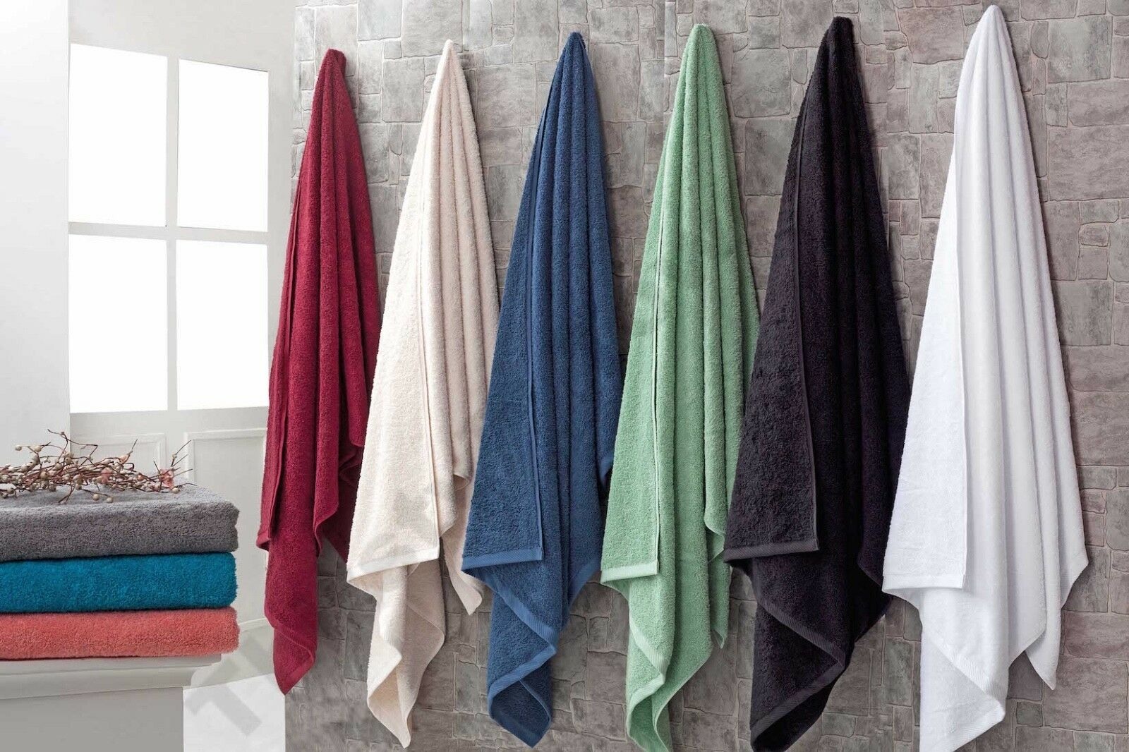 "Largest Bath sheet in USA-40""x80. Genuine Thirsty® Towels &"
