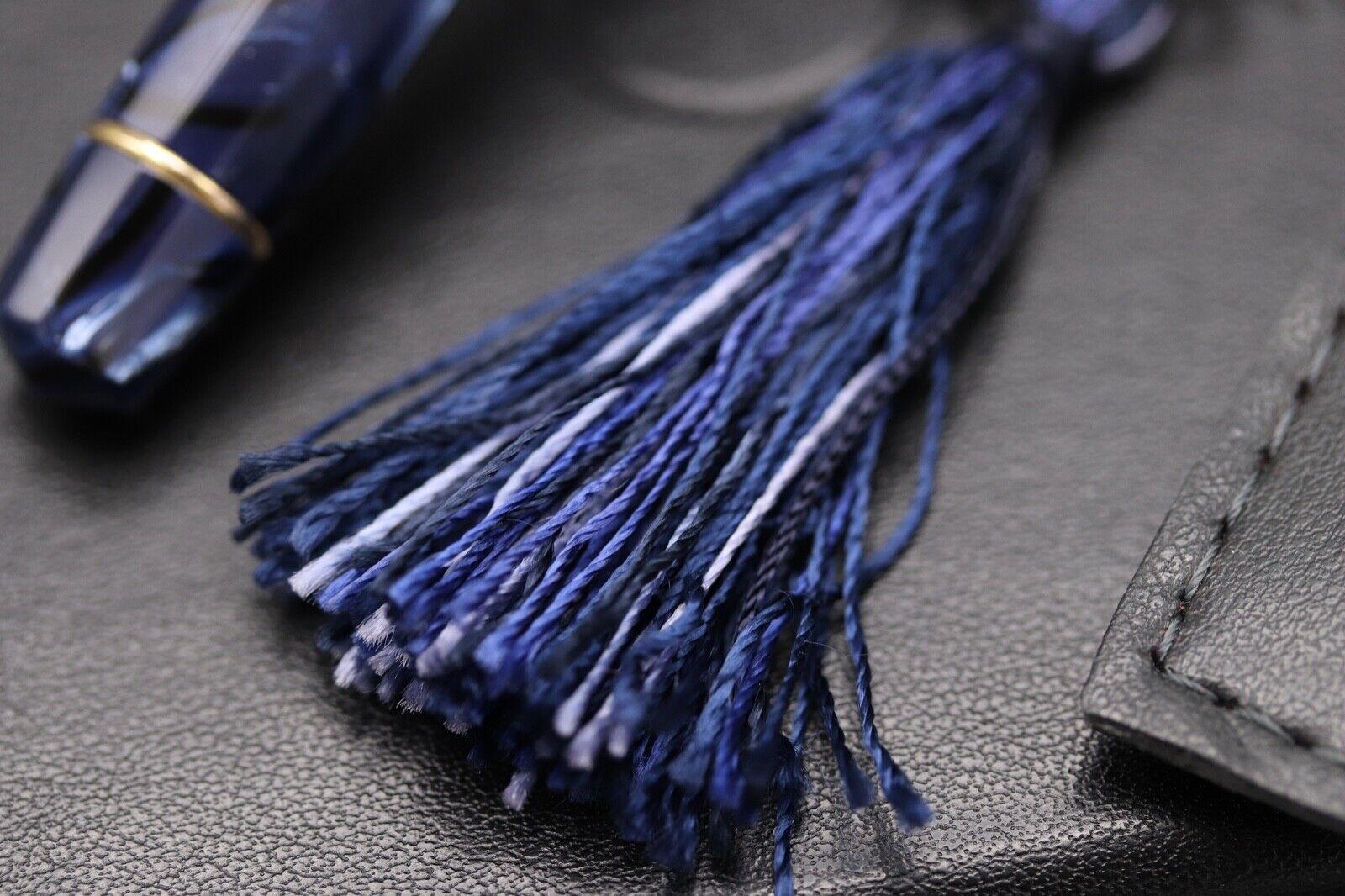 Omas Princess Blue Royale Celluloid Fountain Pen 2