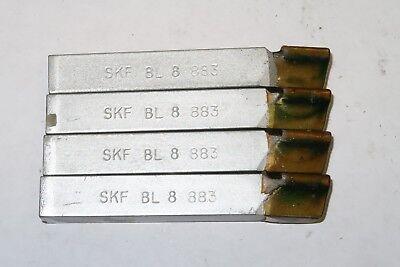 4 Pcs Skf Dormer Bl8 Bl-8 Grade 883 Carbide Brazed Tool Bits Made In Usa