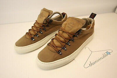 Diemme X Carhartt Heritage tan Canvas Low Shoes Sneakers Margom Italy 42 EU 9 US