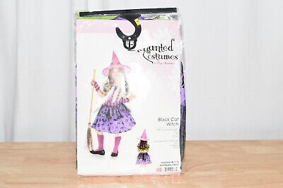 Girl Cat Costumes (Leg Avenue's Girl's Cat Witch Halloween Costume Size M)