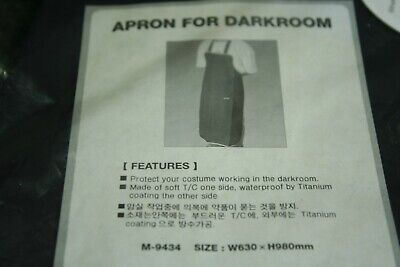 APRON FOR DARKROOM  FREE  SIZE