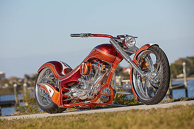 Extreme Model, Custom Harley Davidson, factory title, NADA listed