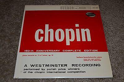 Chopin: Piano Concerto No. 2 in F Minor~150th Anniversary Complete