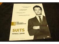  Actor AK1 Gabriel Macht alias Harvey Specter aus Suits Autogrammfoto