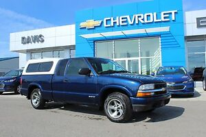 2002 Chevrolet S-10 LS TOPPER AND EXTENDED CAB