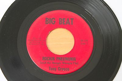 Tony Grecco Rockin Pneumonia Something Else 45 Wild Teen Rockabilly Hear