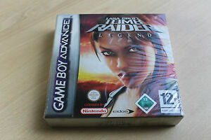 NEW Tomb Raider Legend  GBA Gameboy Advance DS /DS Lite New Factory Sealed
